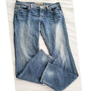 Big Star Vintage Maggie Skinny Distressed Jeans